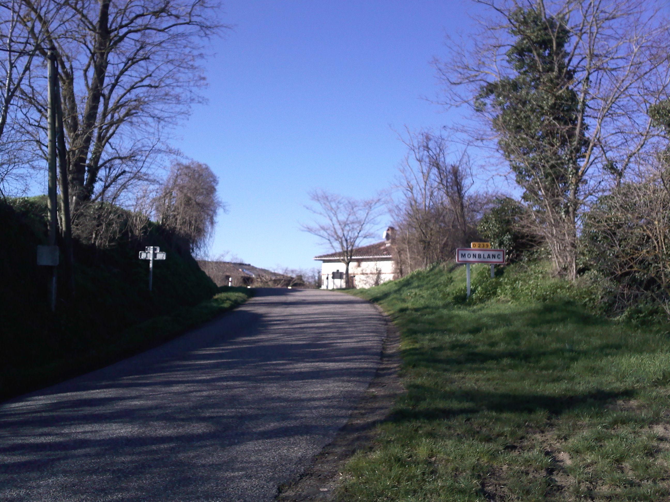 Entré de Montblanc