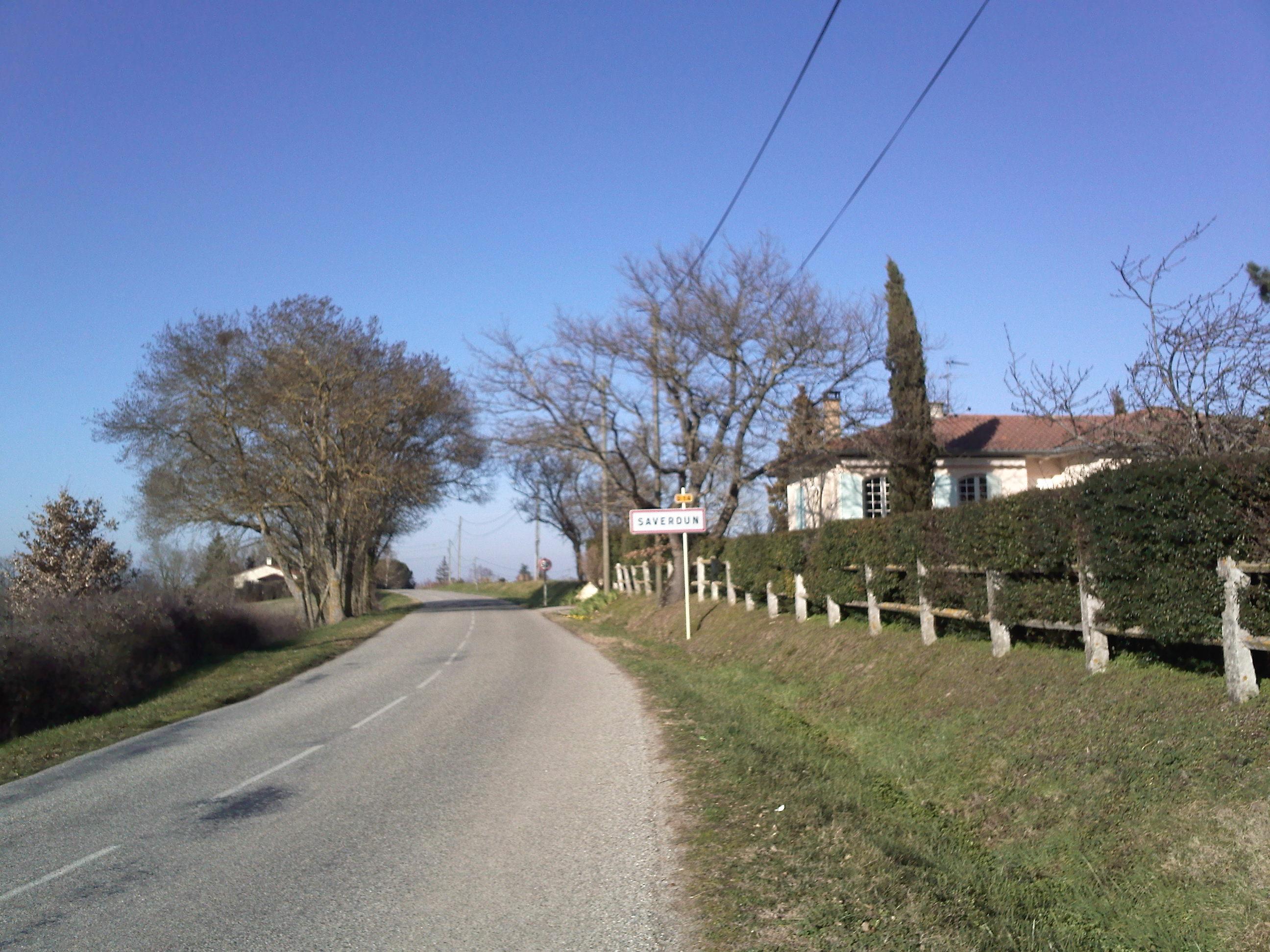 L'entrée de Saverdun